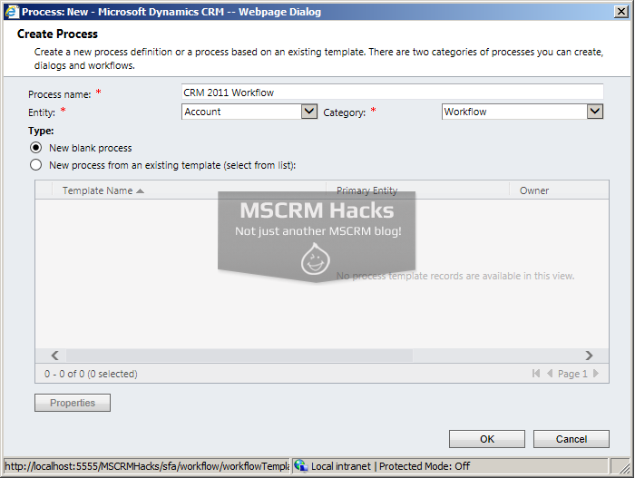 What has changed in Workflows in CRM 2013 - Image 01b