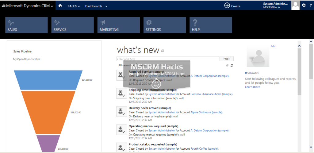 Dynamics CRM 2013 Update Rollup 1 Available for On Premise - Image 04