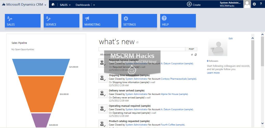 Dynamics CRM 2013 Update Rollup 1 Available for On Premise - Image 05