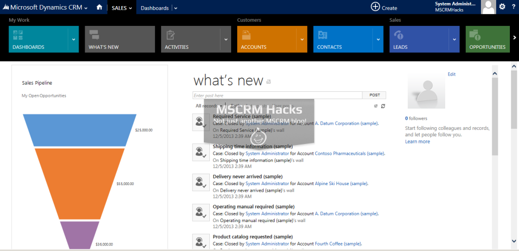 Dynamics CRM 2013 Update Rollup 1 Available for On Premise - Image 06