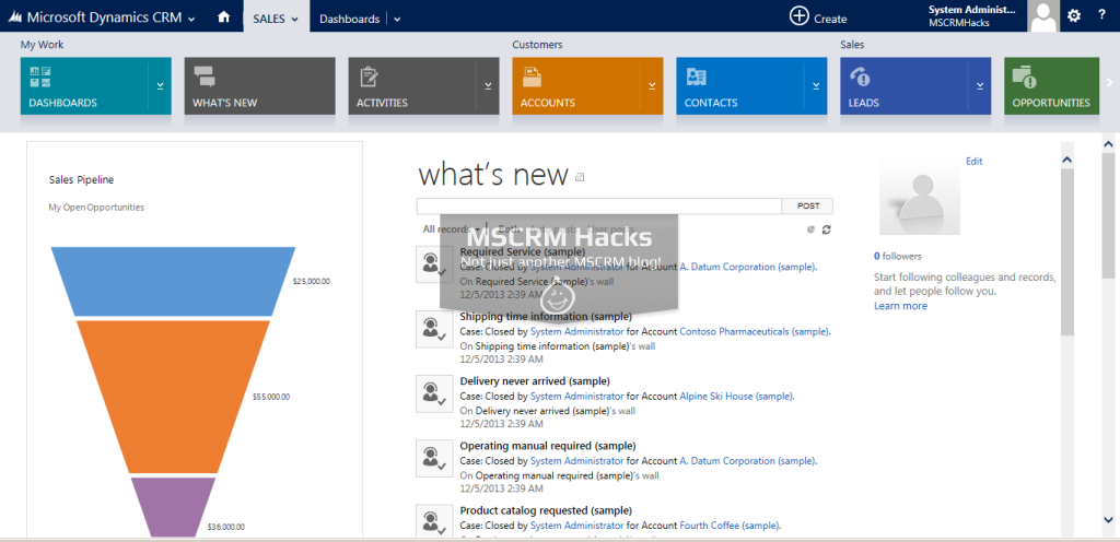 Dynamics CRM 2013 Update Rollup 1 Available for On Premise - Image 07
