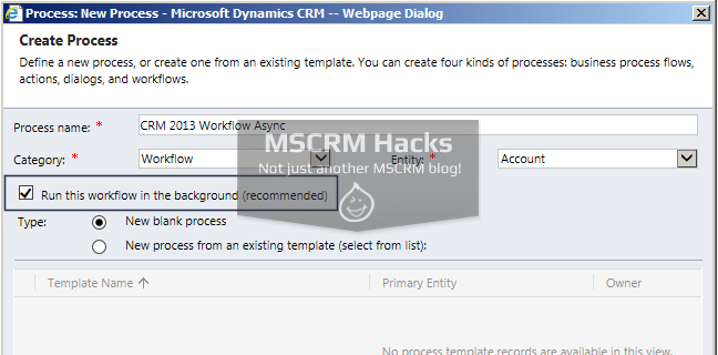 How Workflow configuration looked in CRM 2011 - Image 07