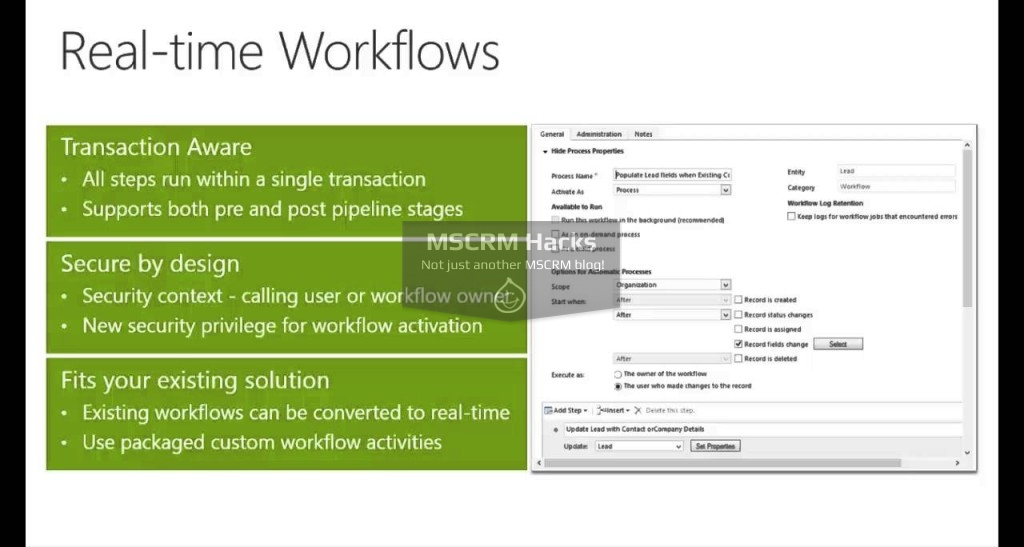 What has changed in Workflows in CRM 2013 – Image 01a