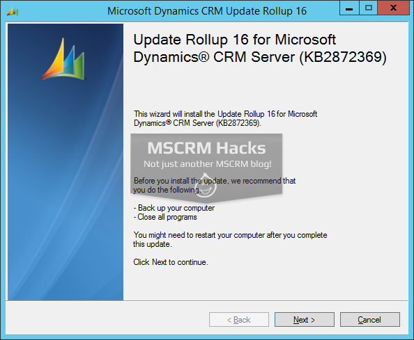 Dynamics CRM 2011 Update Rollup 16 available On Premise - Image 01