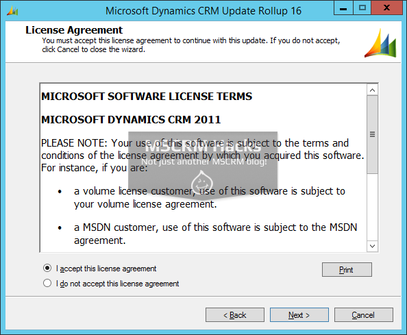Dynamics CRM 2011 Update Rollup 16 available On Premise - Image 02