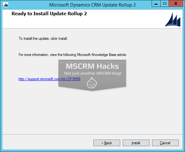 Dynamics CRM 2013 Update Rollup 2 available for On Premise - Image 03