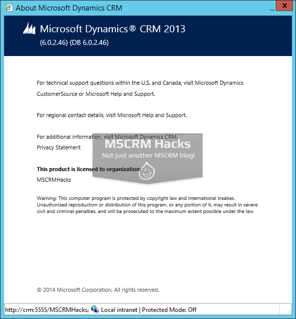 Dynamics CRM 2013 Update Rollup 2 available for On Premise - Image 06