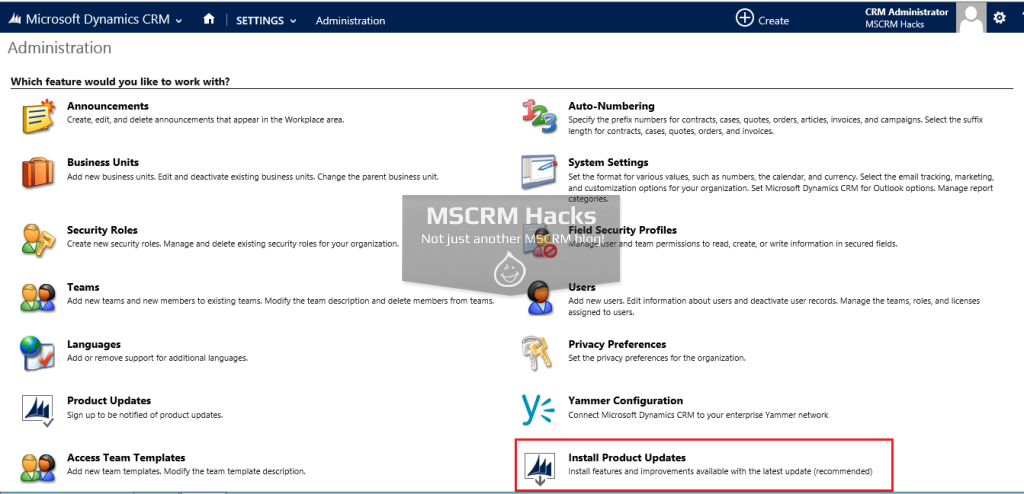 Dynamics CRM 2013 Service Pack 1 available for On Premise - Image 08