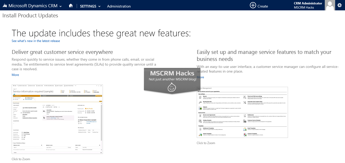 Dynamics CRM 2013 Service Pack 1 available for On Premise - Image 09