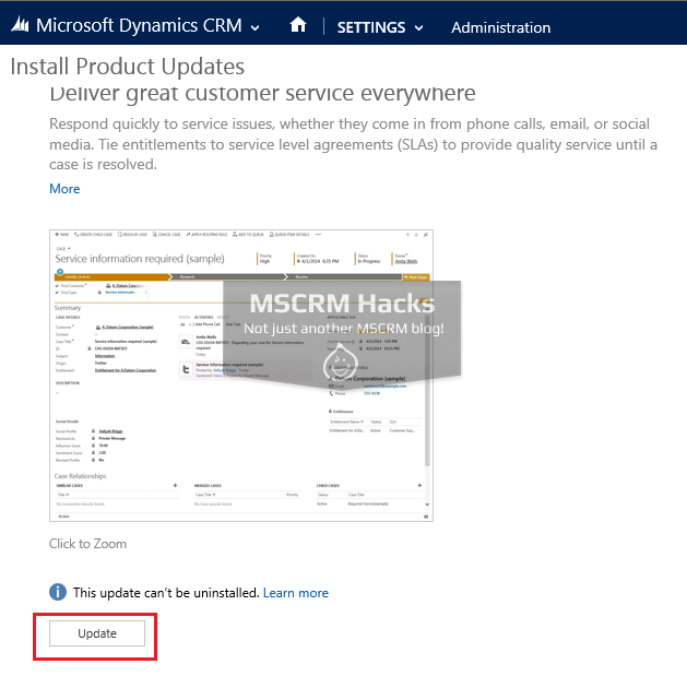 Dynamics CRM 2013 Service Pack 1 available for On Premise - Image 10