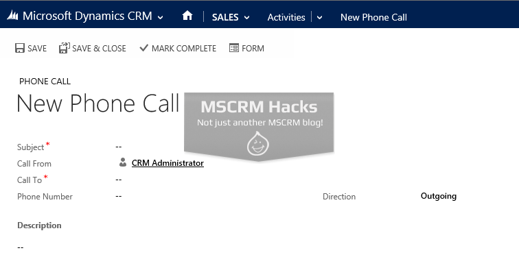 Modify Customer type Lookup in CRM 2013 - Image 02