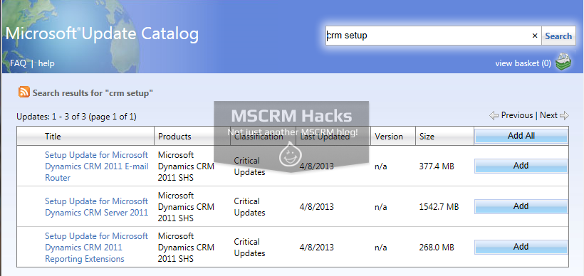 Install CRM 2011 on Windows Server 2012 R2 - Image 01