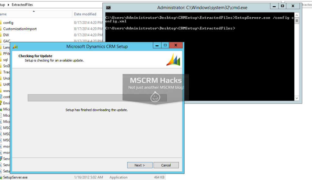Install CRM 2011 on Windows Server 2012 R2 - Image 04