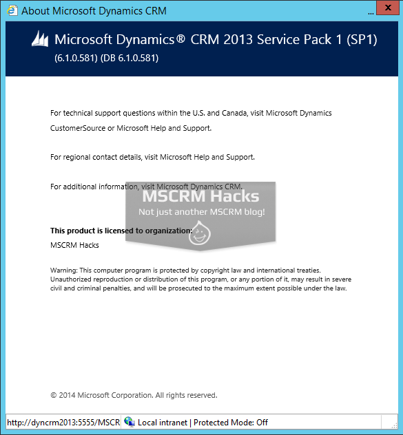 Dynamics CRM 2013 Service Pack 1 available for On Premise - Image 07