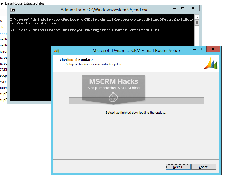Install CRM 2011 on Windows Server 2012 R2 - Image 08