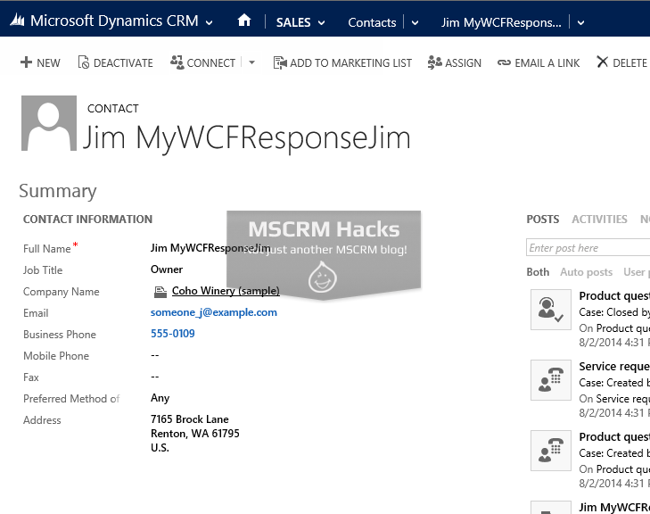 Call WCF Service from Dynamics CRM 2013 using AJAX - Image 08