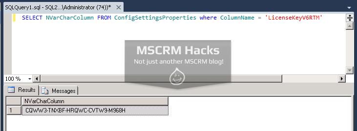 Retrieve your Dynamics CRM license key easily - Image 03